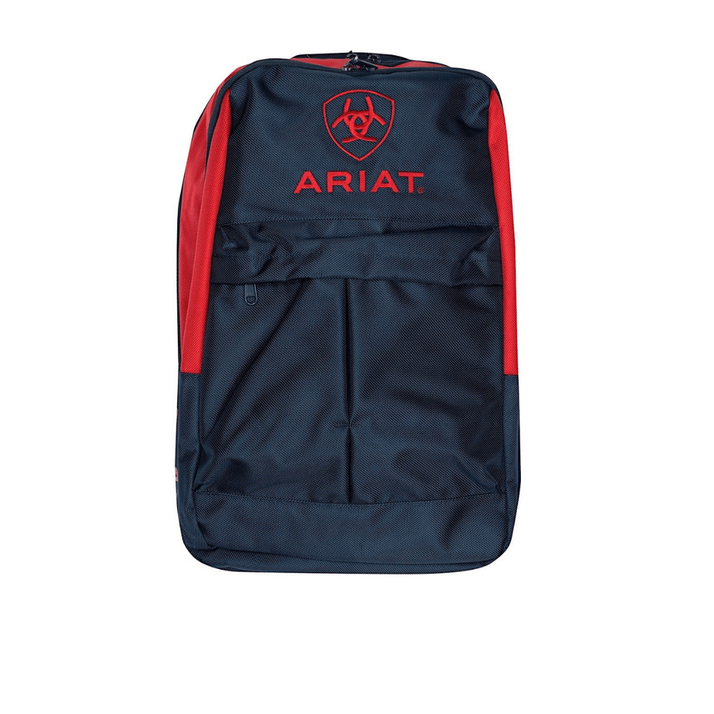 Ariat Back Pack Red/Navy at Bowral Coop