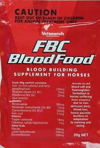FBC Bloodfood Granules 30g at Bowral Coop