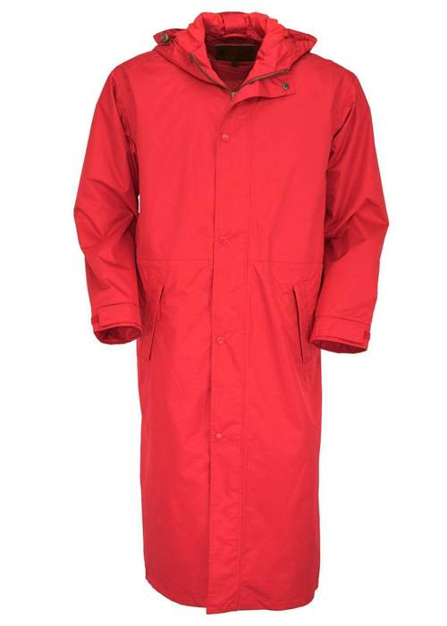 Outback Pak-A-Roo Duster Red XS at Bowral Coop