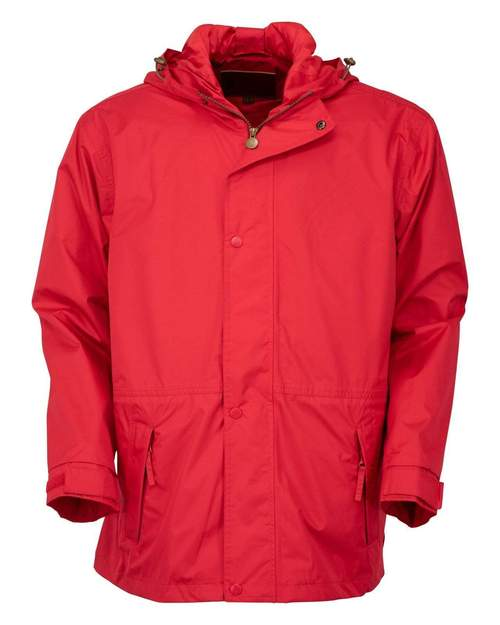 Outback Pak-A-Roo Parka Red XS at Bowral Coop