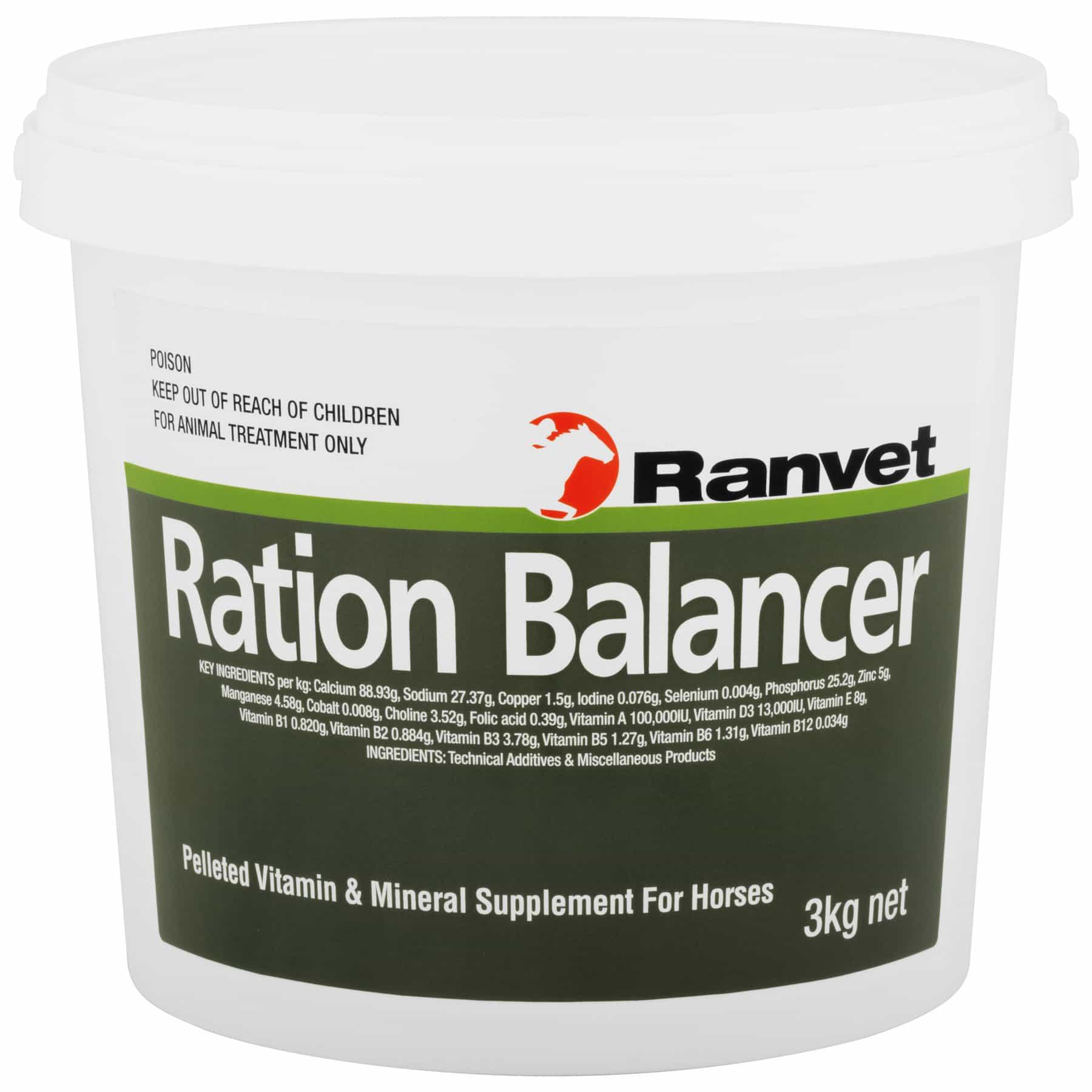 Ration Balancer Pellet 3kg at Bowral Coop