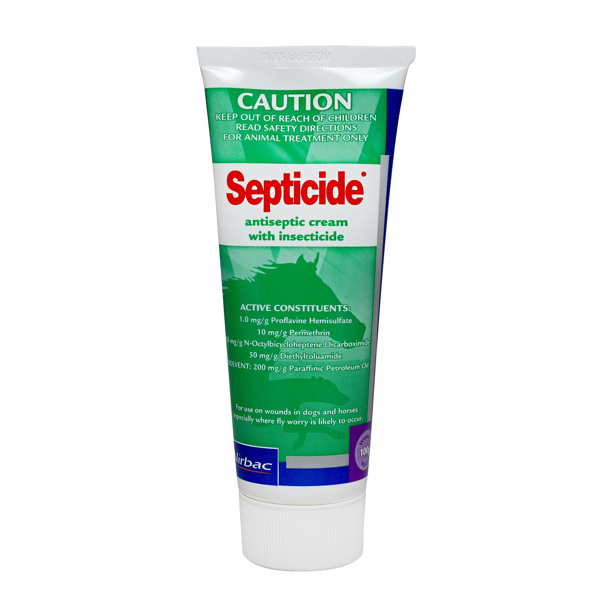 Septicide Cream Greyhound/Horse 100G at Bowral Coop