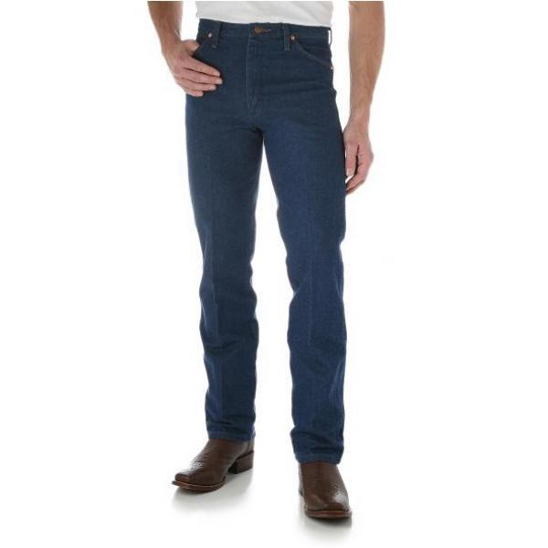 Wrangler Cowboy Cut Slim Fit Mens Jean Prewashed Indigo 32 Leg SZ 42 at Bowral Coop