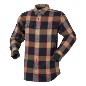 Ridgeline Backcountry Checked Shirt Red and Black M at Bowral Coop