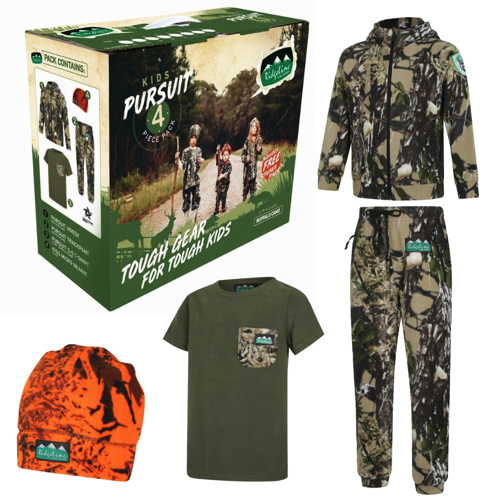 Kids Pursuit Clothing Pack Camo Sz 14 at Bowral Coop