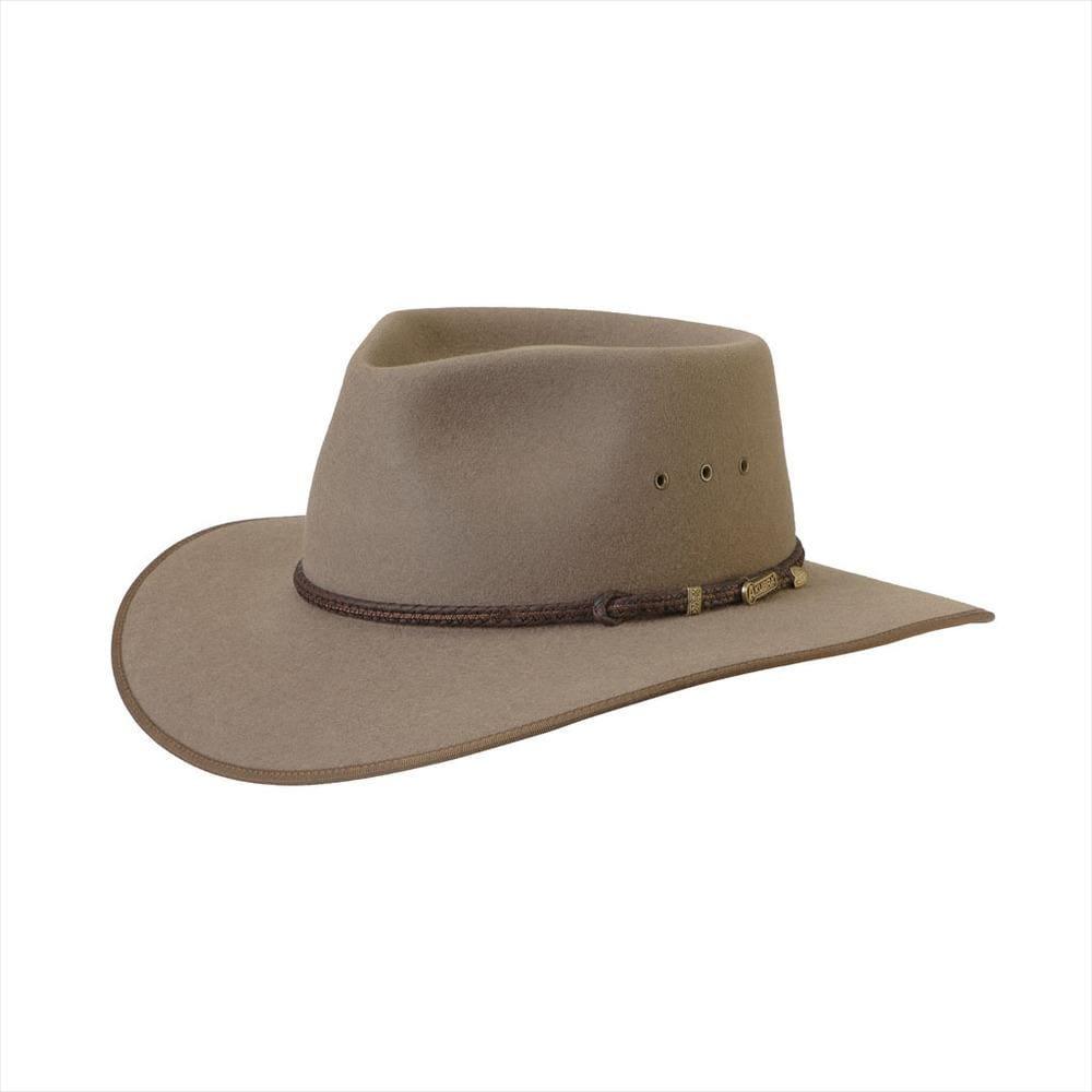 Akubra Hat Cattleman Bran Size 61 at Bowral Coop