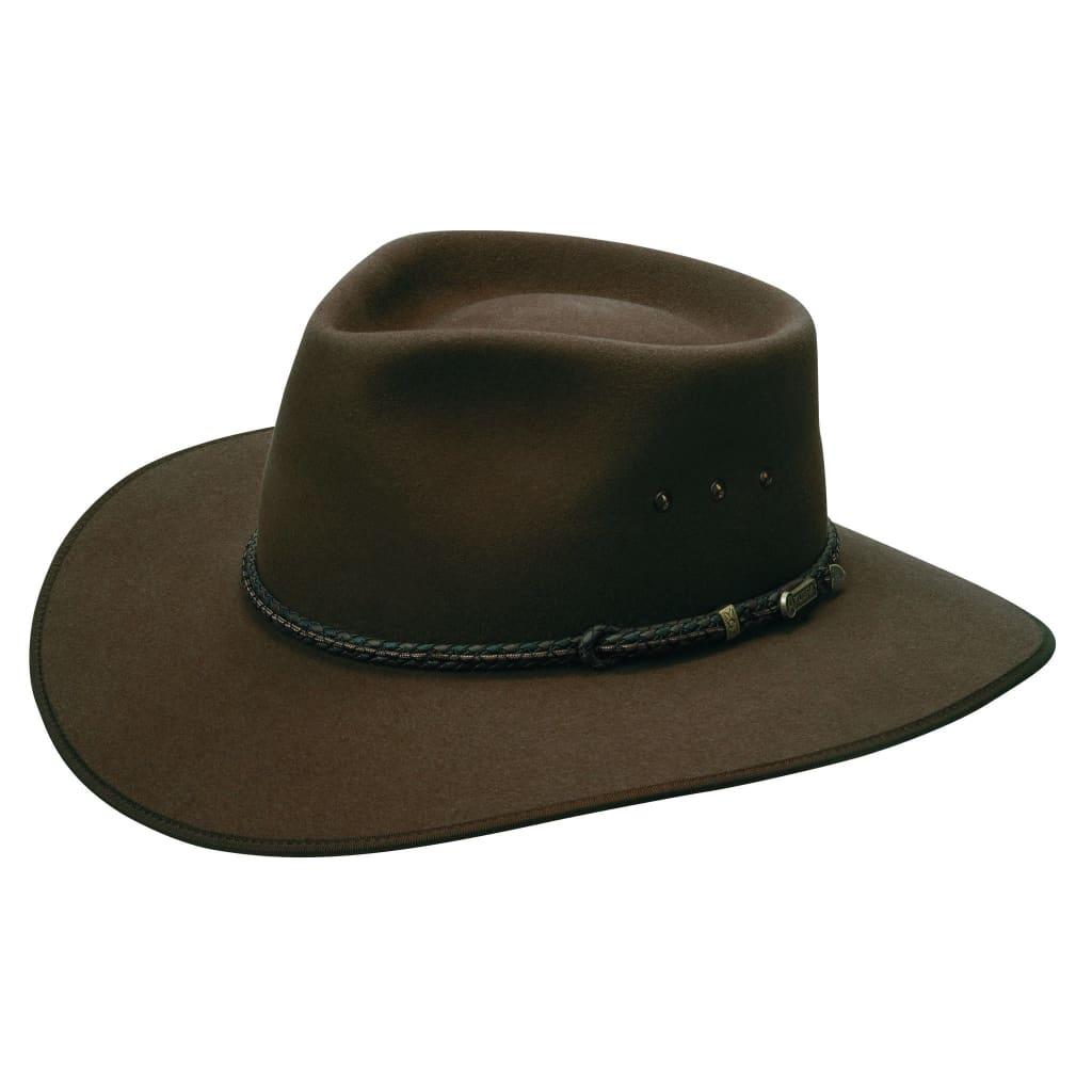 Akubra Hat Cattleman Fawn Size 61 at Bowral Coop