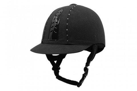 New Eurohunter Helmet Diamantes Black 56 at Bowral Coop