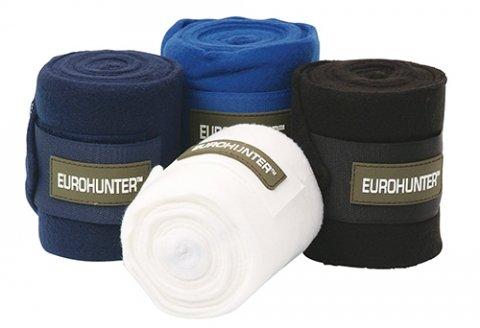 Eurohunter Bandages Polo Fleece White at Bowral Coop