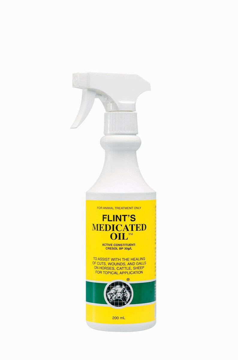 Flints Medicated Oil 200ml at Bowral Coop