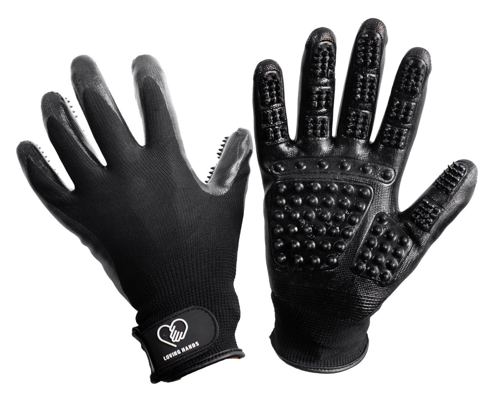 HandsOn Grooming Gloves Large at Bowral Coop