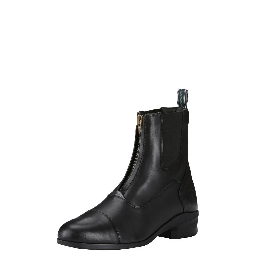 Ariat Mens Heritage IV Zip Paddock Boot Black 11 at Bowral Coop