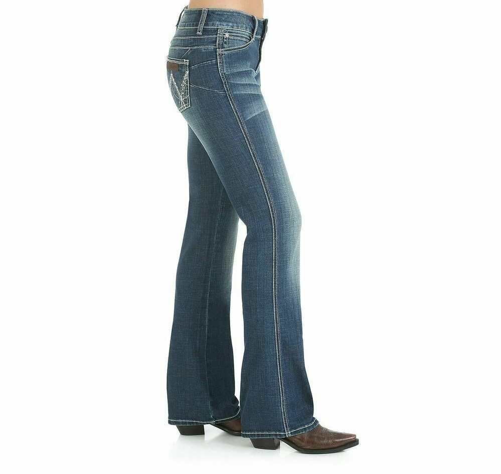 Wrangler Mae Premium Patch Mid Rise Womens  Jean 19/20 at Bowral Coop