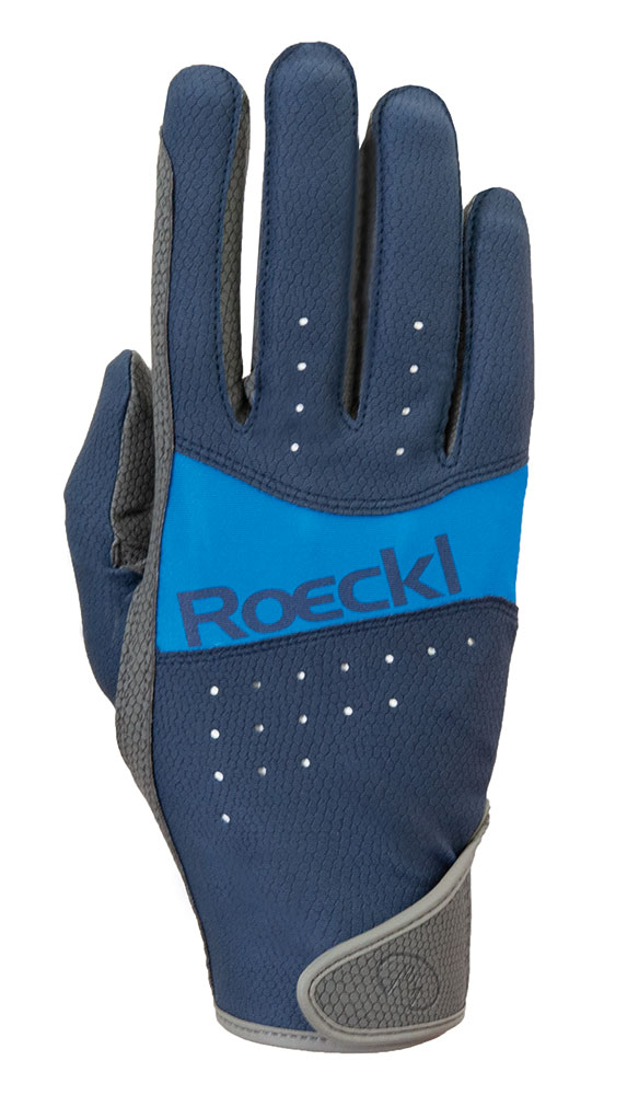Roeckl Marbach Gloves - Navy Size 9 at Bowral Coop