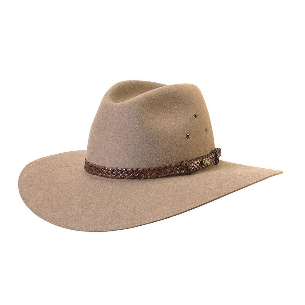 Akubra Hat Riverina Bran Size 61 at Bowral Coop