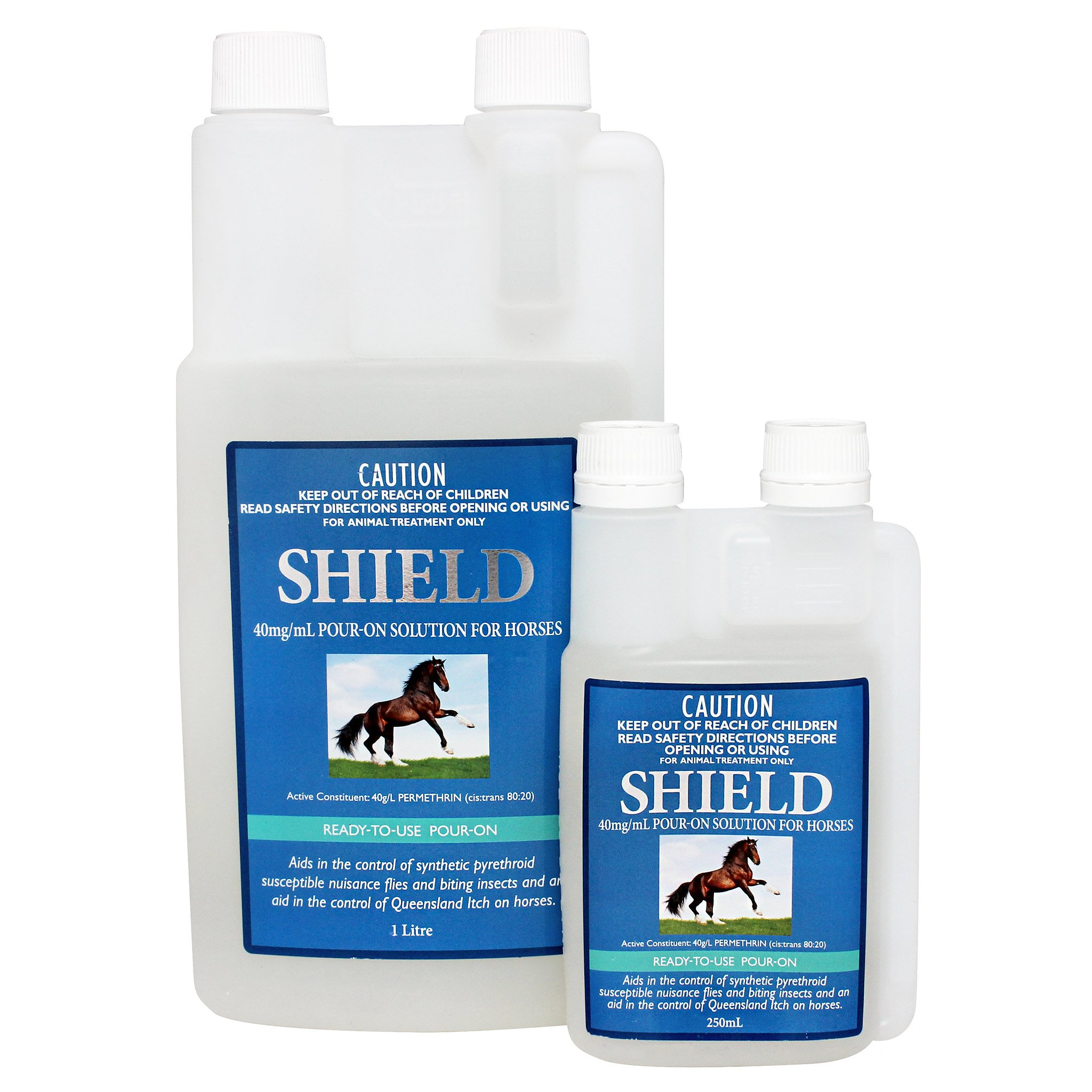 Shield Pour On Horse 250ml at Bowral Coop