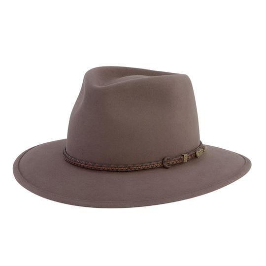 Akubra Hat Traveller Regency Fawn Size 57 at Bowral Coop