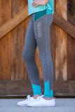 BARE Youth Performance Tights - Pop 12-14 at Bowral Coop