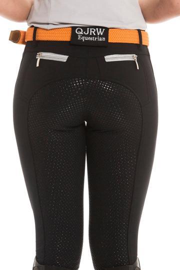 QJ Zara Breech Black Size 14 at Bowral Coop